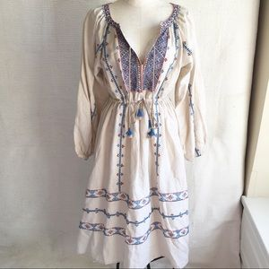 LoveShackFancy OS Year Round Boho Peasant Dress